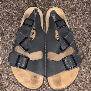 Betula Birkenstocks with back strap